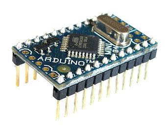 Внешеий вид платы Arduino Mini - Atmega168
