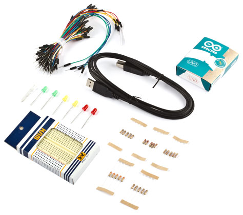 Минимальный стартовый набор ArduinoKit для освоения Arduino