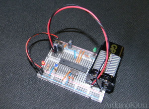 hands-made-Arduino - arduinokit.ru (my board)