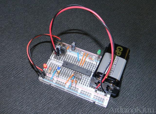 Рисунок моей собственной платы Arduino (голая, без обвеса)