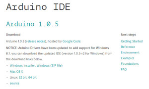 Выбор программы драйверов Arduino - руководство