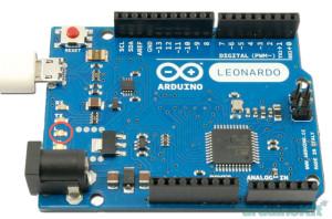 Arduino - Leonardo board-Lesson 1 circ