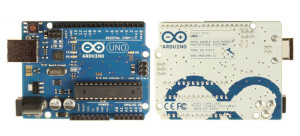Arduino UNO (Front and Back)