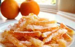 цукаты из апельсиновых корочек - лого