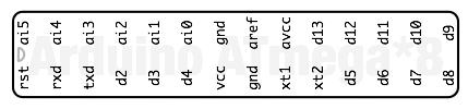 Наклейка Arduino ATmega