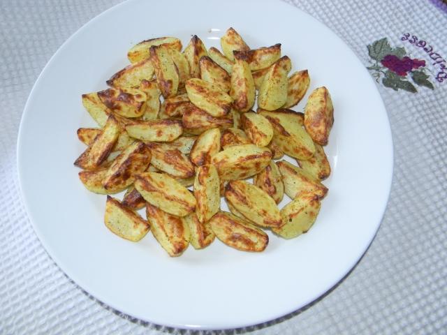 Картошка по деревенски - красивая и готовая