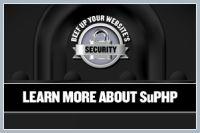 Модуль для Apache - suphp