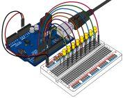 LEDs-dance. Arduino. Урок 4 - ко дпрограммы
