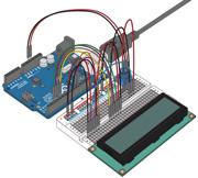 lesson10 - Arduino LCD - код программы