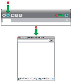 Среда програмирования Ардуино IDE. Монитор COM порта