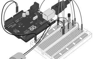 Миниатюра к уроку№12. Arduino и Мотор