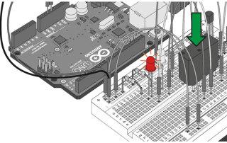 Миниатюра к уроку №13. Arduino и Реле. Принципиальная схема и код программы