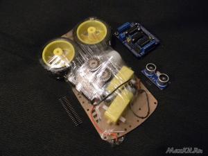 Шасси для проекта Робот на Arduino 2WD Kit
