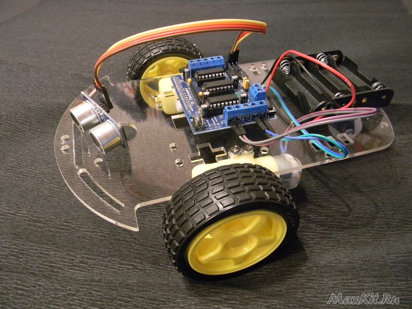 Проект Шасси для робота 2WD