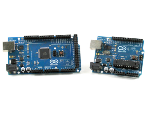 Платы Arduino пришедшие из Италии. UNO и MEGA