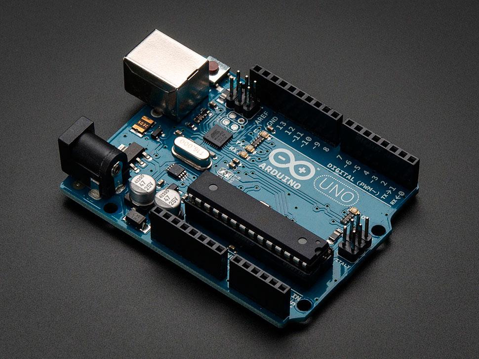 Вид платы Arduino UNO