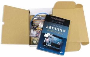 Книга по Arduino от создателя интереснейших видео уроков Джереми Блума в комплекте с набором конструктором
