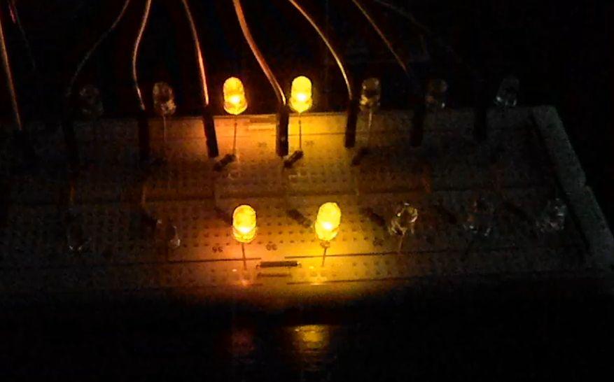 Светомузыка на Arduino в действии