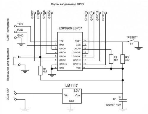 Умный дом на Wi-Fi модулях — Начнем с ESP8266