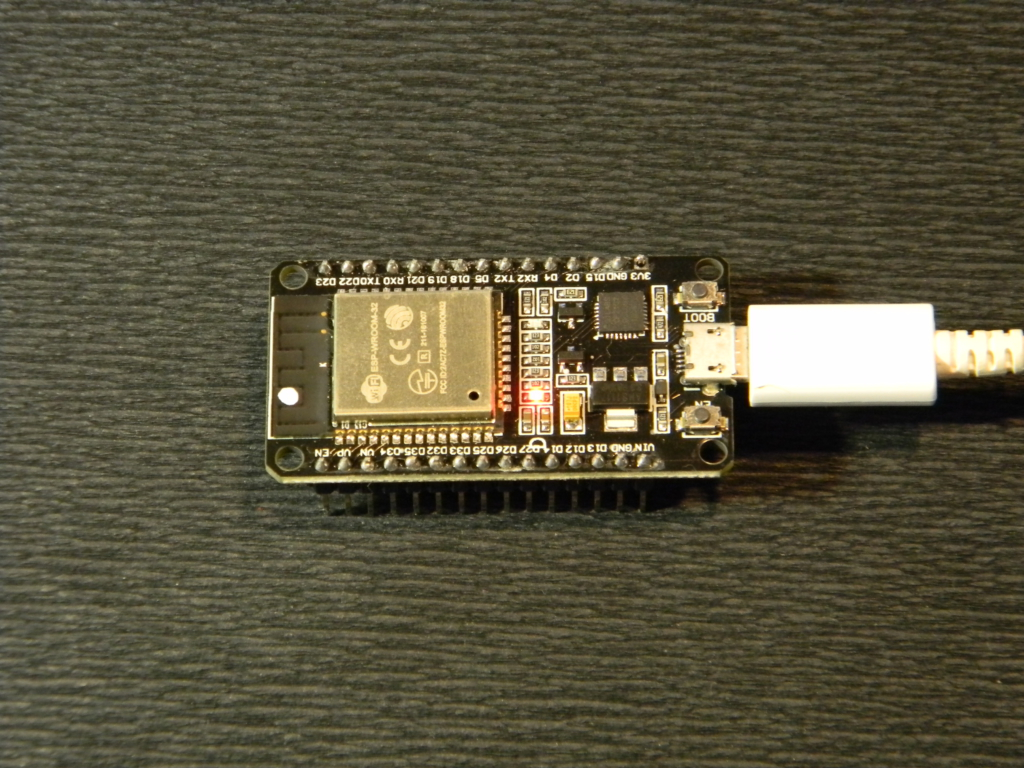 Подключенный ESP32