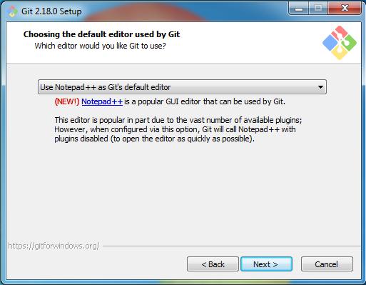 Выбор текстового редактора Notepad++
