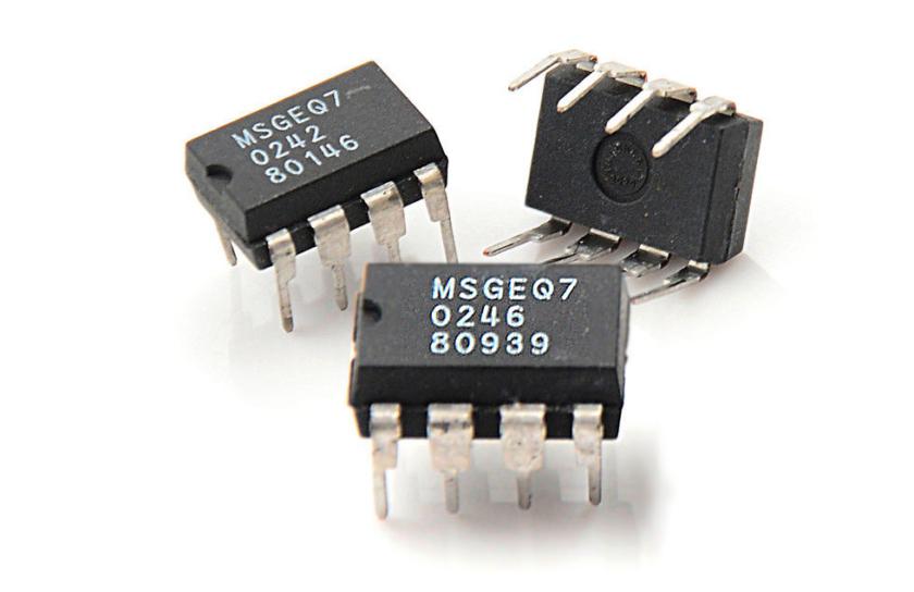Три микросхемы MSGEQ7