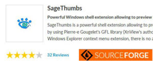 SageThumbs - расширение для проводника Windows