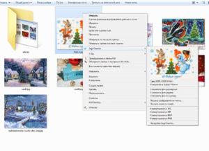 SageThumbs в контекстном меню Windows