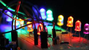 Цветомузыка из нескольких модулей на ARDUINO