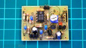 Микрофонный усилитель на К140УД1208. ЛУТ