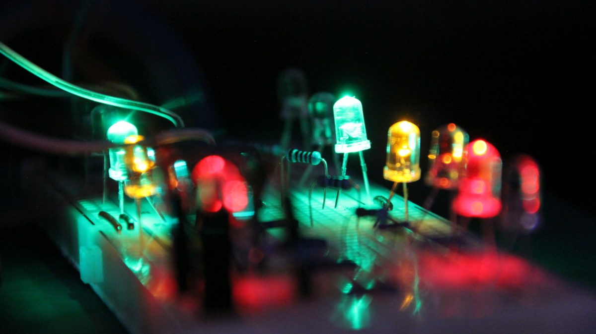 Leds color music. MSGEQ7 and ARDUINO