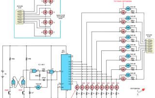 Миниатюра: принципиальной схемы тестера для витой пары категории 5e