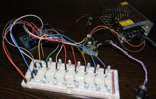Цветомузыка из Arduino